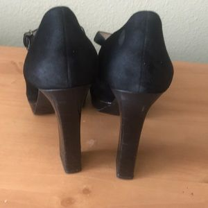 Michael Kors Shoes - Michael Kors Black Leather Heels